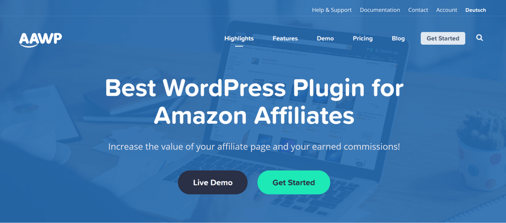 AAWP - Amazon Affiliate Plugins