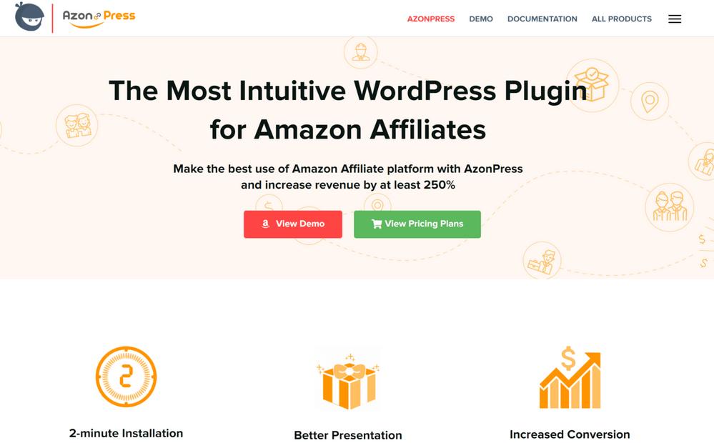 AzonPress - Amazon Affiliate Plugins