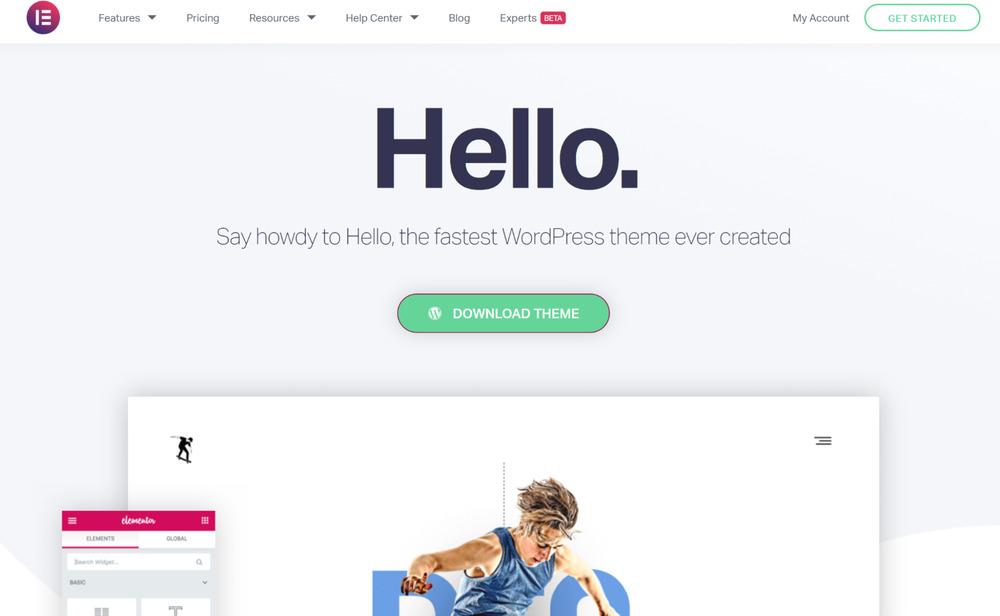 Hello Elementor - WordPress Affiliate Theme