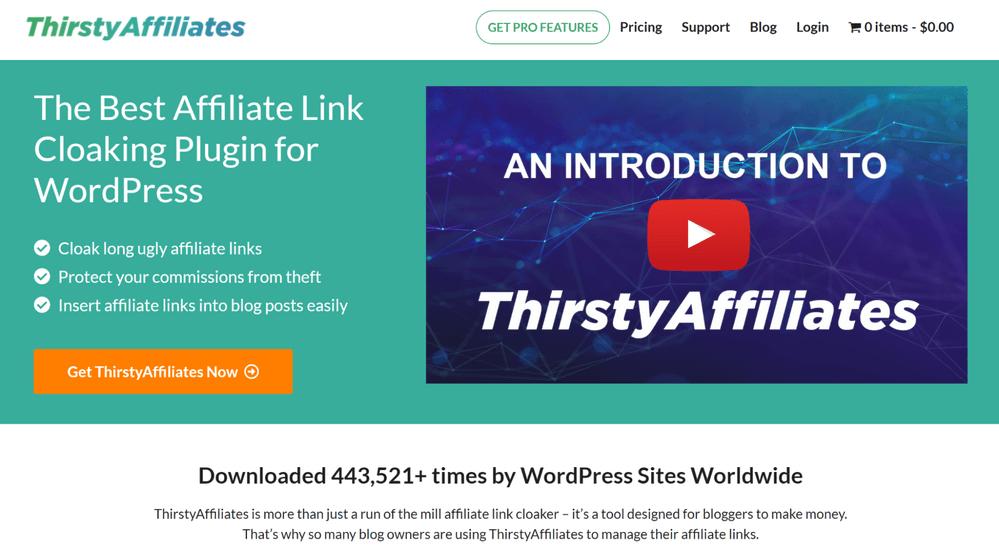 ThirstyAffiliates - Amazon Affiliate Plugins