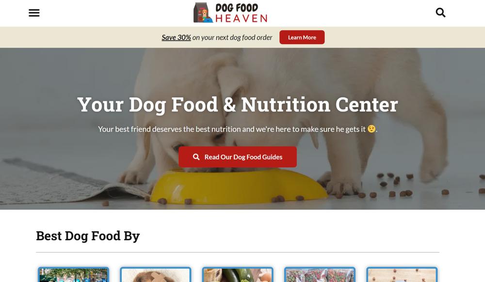 dog food heaven