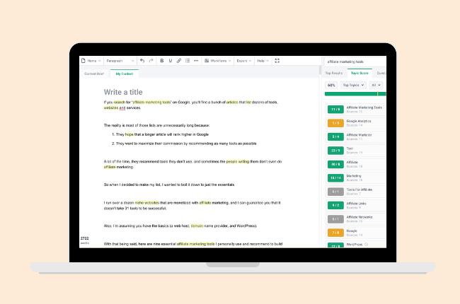 frase - affiliate marketing tools